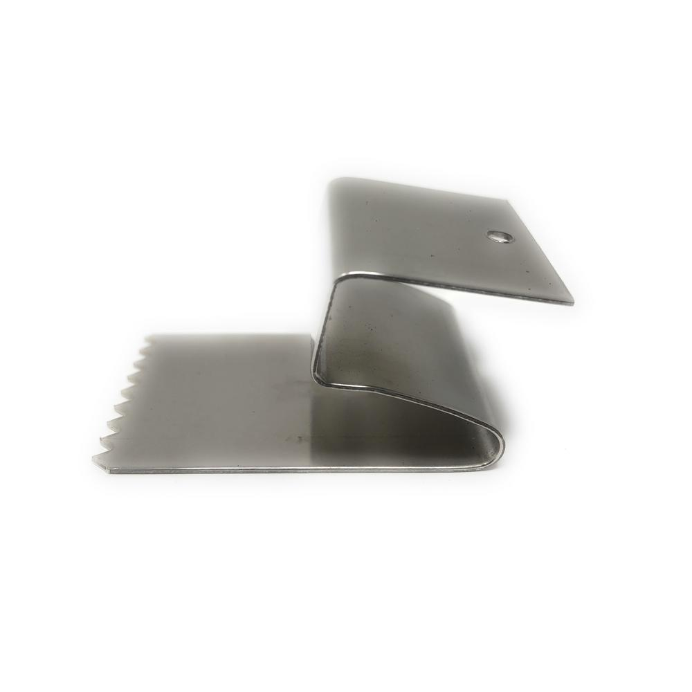 1 2 In Stainless Steel Clips Used For Plywood In Storm Protection 254 018 The Home Depot Plywood Clips Stainless Plywood