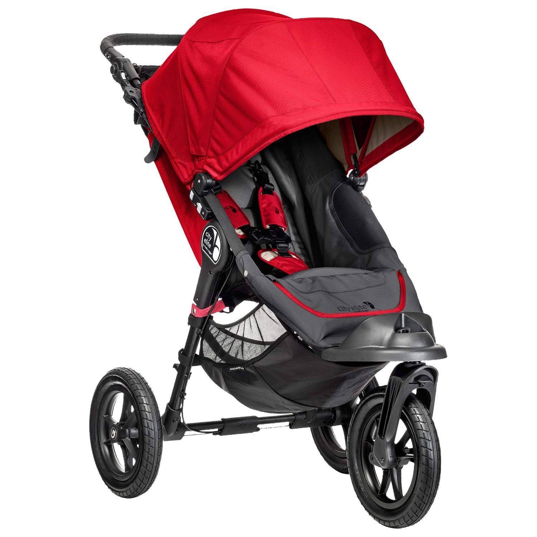 Baby Jogger City Elite Pushchair, Black Baby jogger city