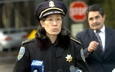 "Onetime San Francisco Police Chief Heather Fong, serving as Assistant Secretary for State and Local Law Enforcement in the Department of Homeland Security, is apparently on a short list of candidates to become Border Patrol chief, as reported by Fox News. Because Fong hails from SF, and is a ""vocal supporter of sanctuary cities,"" she's being called the ""worst possible fit"" for the job — and Texas Governor Greg Abbott has already come out saying there will be ""a revolt"" if Fong l"