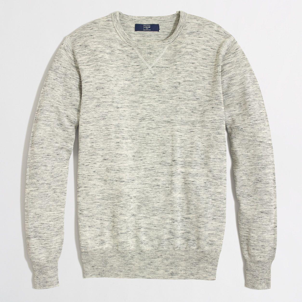 9d2869fe Factory heathered sweatshirt sweater : Cotton   J.Crew Factory