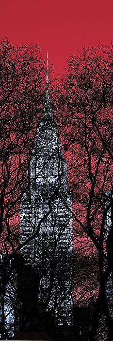 Chrysler building, Manhattan.  New York city   NYC. by Andrew Fare