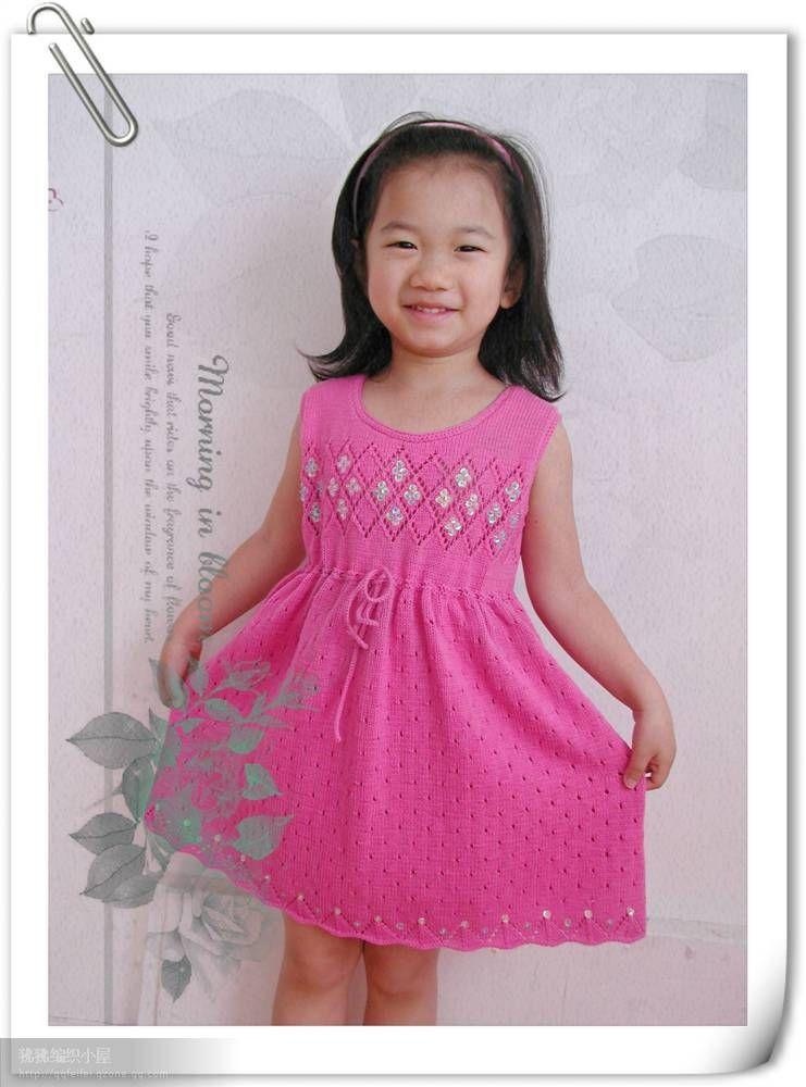 c41e909176c Вязание девочкам спицами  платья