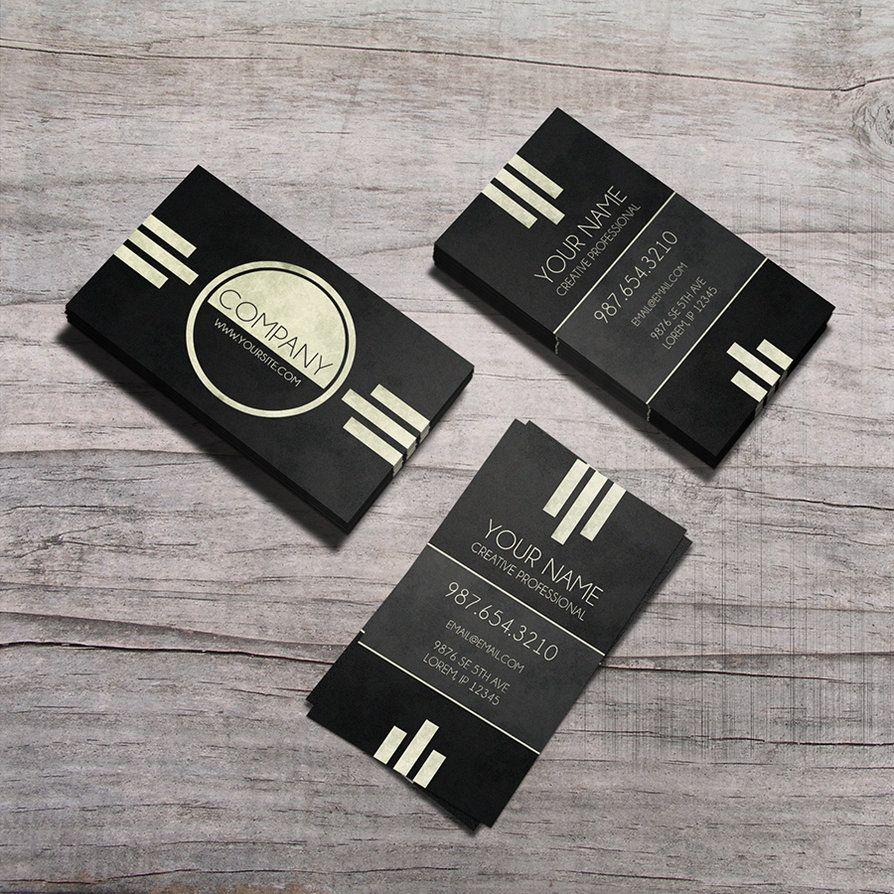 Предостережение - Art Deco Business Card по macrochromatic | ФС ...
