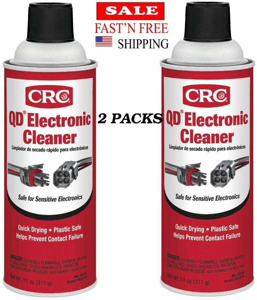 Crc Electronic Cleaner 11 Oz A Petroleum Distillate Excellent Precision Clean 2p Crc Electronics Cleaners Cleaners Electronics