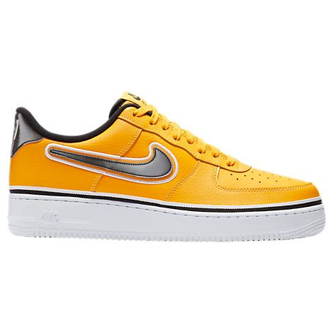 brand new 65f72 5e10b NIKE MEN S AIR FORCE 1  07 LV8 SPORT CASUAL SHOES, YELLOW.  nike  shoes
