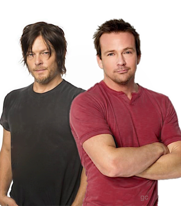 Norman Reedus Sean Patrick Flanery Flandus #gc Boondock Saints The Walking Dead - For the love of Flandus.