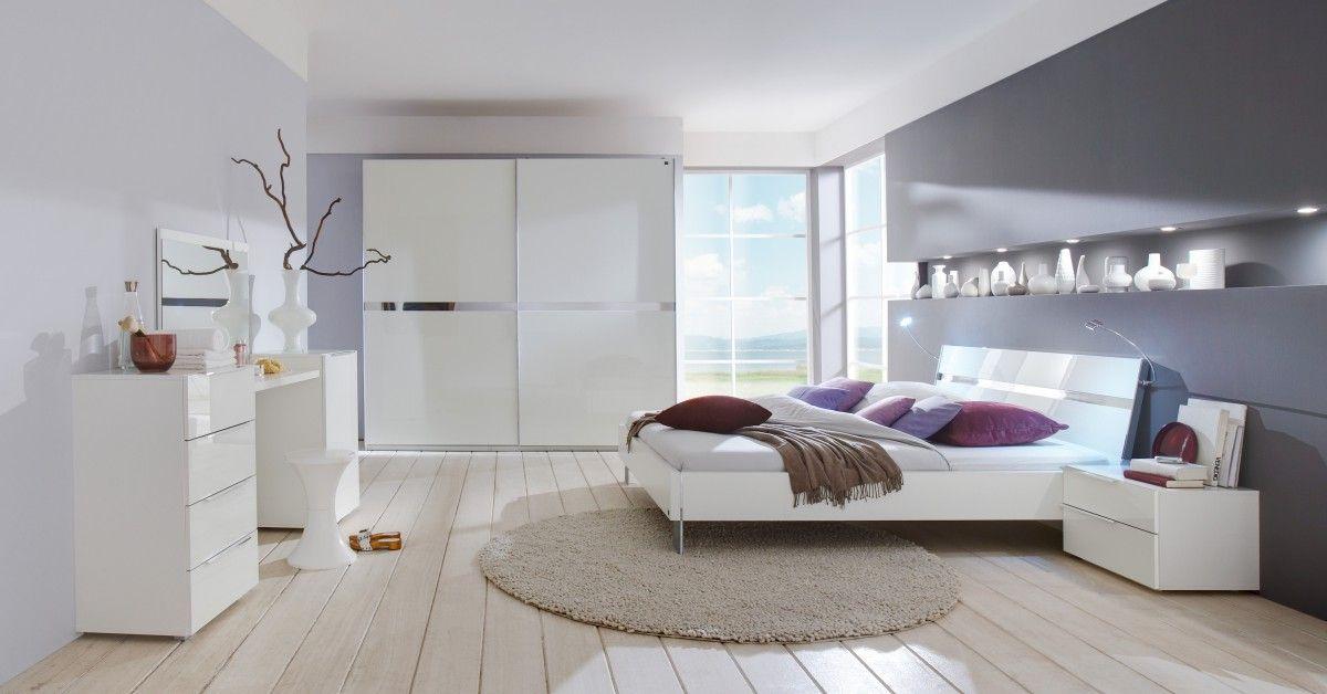 Tolle schlafzimmer komplett mit schwebetürenschrank Deutsche - schlafzimmer komplett weiß