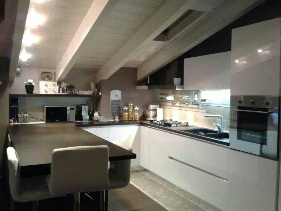 Cucina mansarda | Mansarde | Pinterest | Attic, Attic apartment and ...