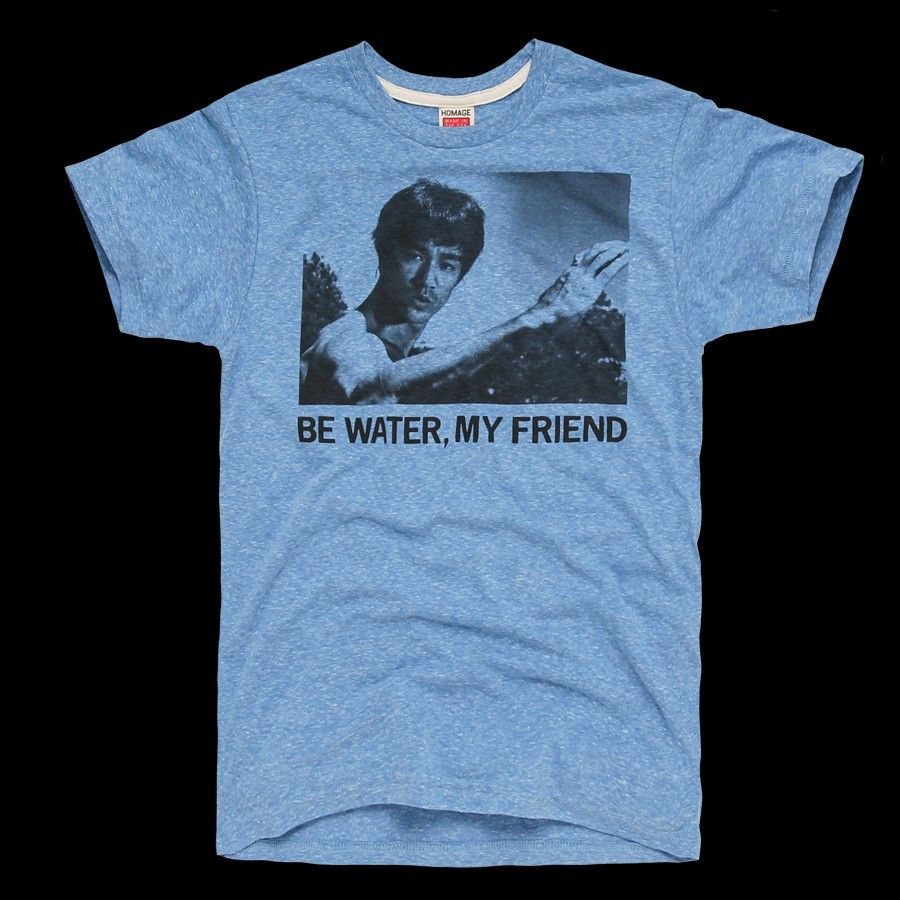 Design your own t shirt columbus ohio - Vintage Be Water My Friend T Shirt Unisex Stylethe Cupmy Friendlight Blue Build