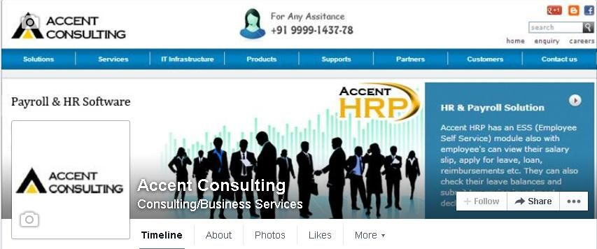 Accent Consulting - Facebook Page