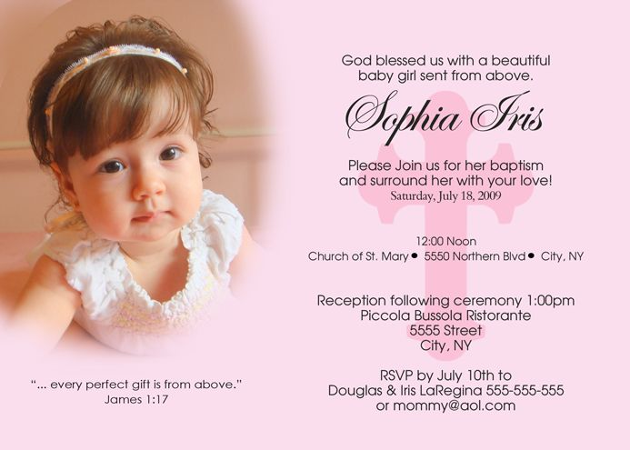 christening-baptism-inviations-girls-4 | christening | Pinterest