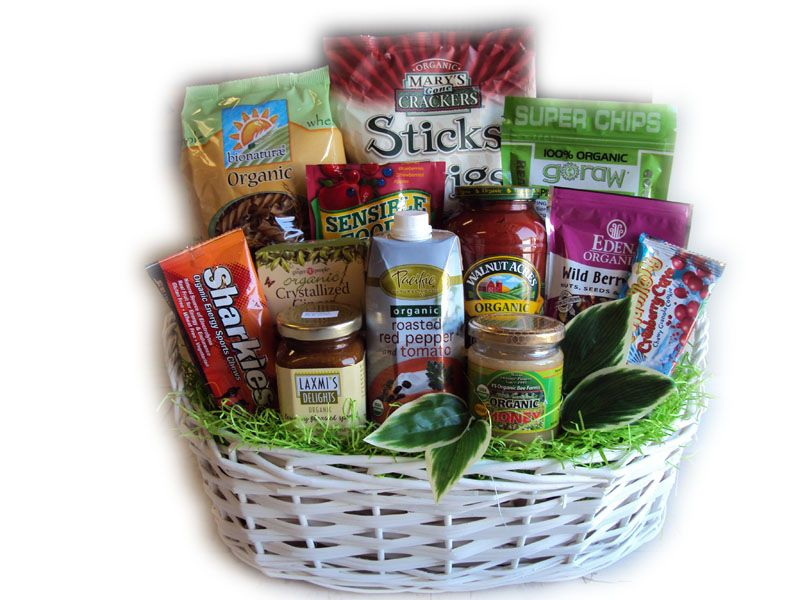 25 unique organic gift baskets ideas on pinterest gift basket athlete gift basket with organic healthy foods negle Image collections
