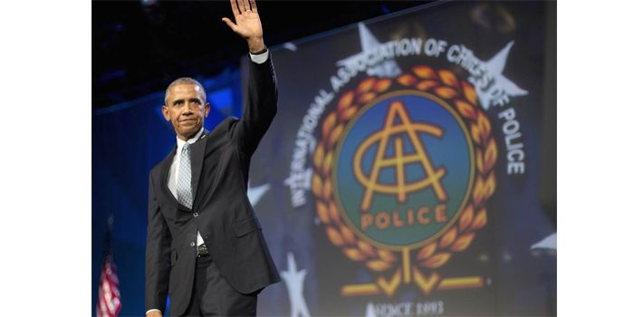 In Speech to Cops, Obama Skips 3 Key Words that Could Reduce Gun Violence - http://www.gunproplus.com/in-speech-to-cops-obama-skips-3-key-words-that-could-reduce-gun-violence/