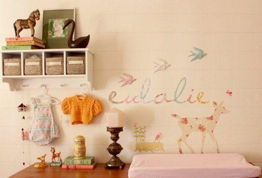 Murales para decorar la habitación de los niños