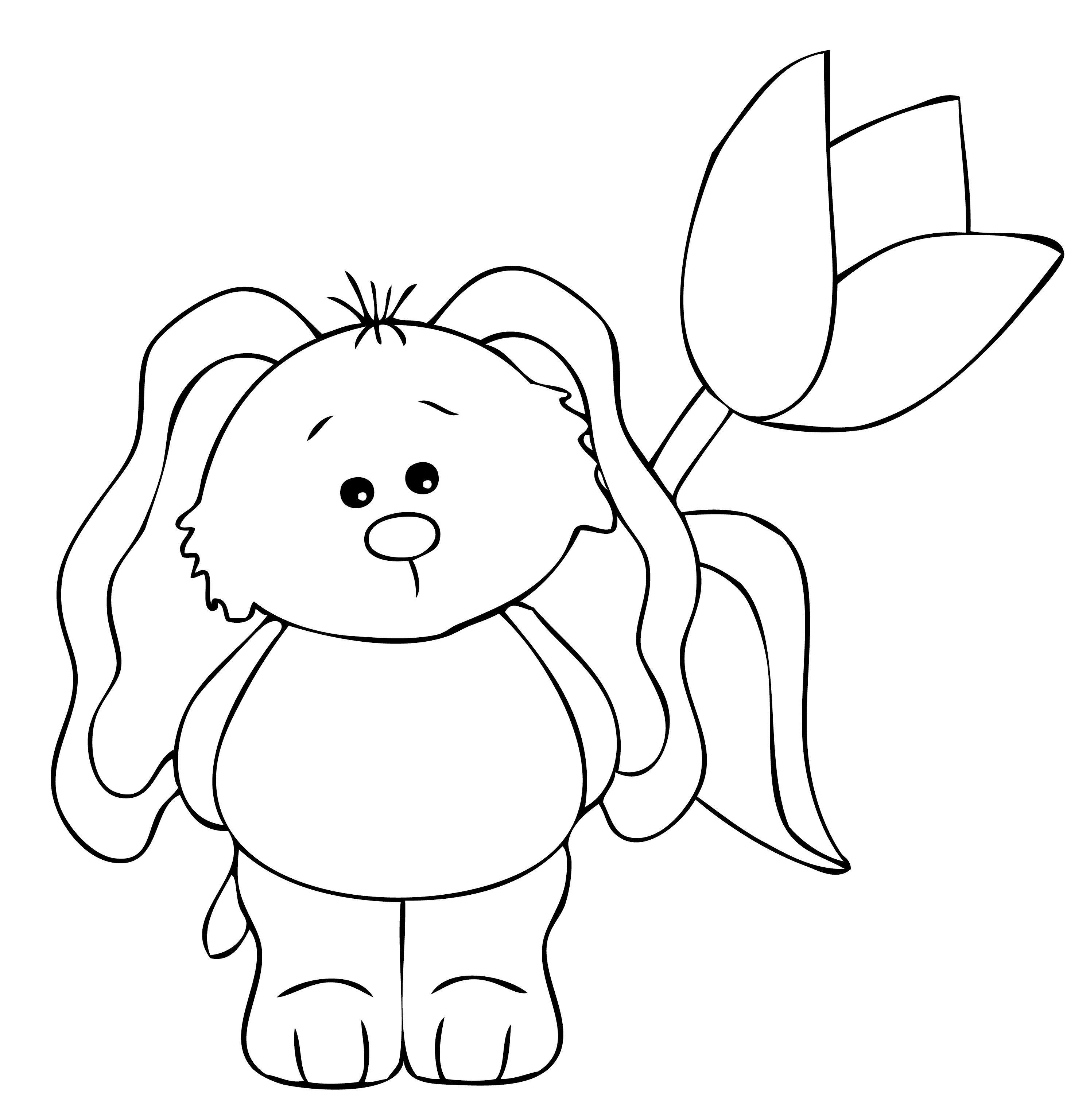 Bunny W Flower
