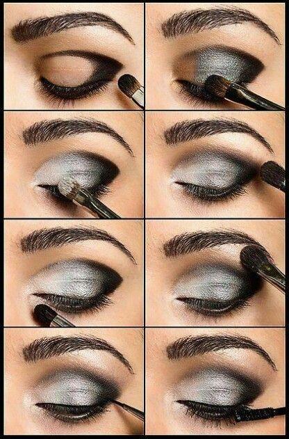 Maquillaje Peinado Pinterest Maquillaje de ojos ahumado, Ojo