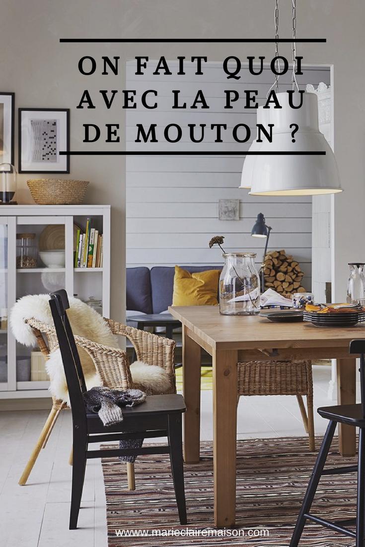 on fait quoi avec notre fausse peau de mouton ikea. Black Bedroom Furniture Sets. Home Design Ideas