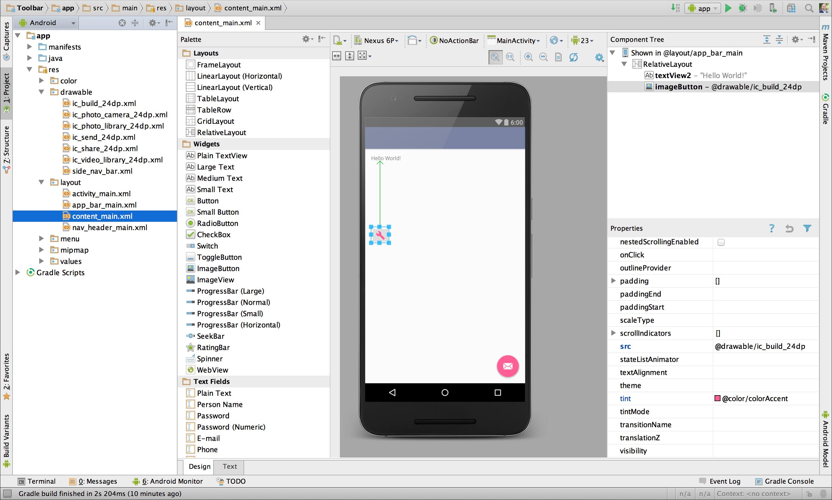 Add MultiDensity Vector Graphics Android Studio