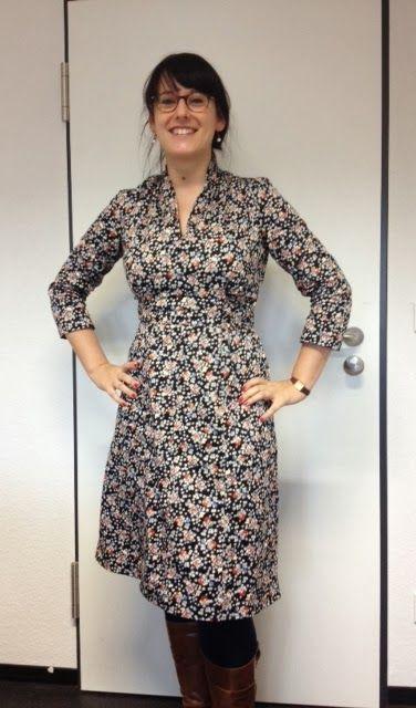 Me Made Mittwoch: Frau Kirsche in Butterick | Nähen - Kleidung ...