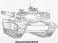 Mobil Tank Dengan Gambar Tank Warna Gambar