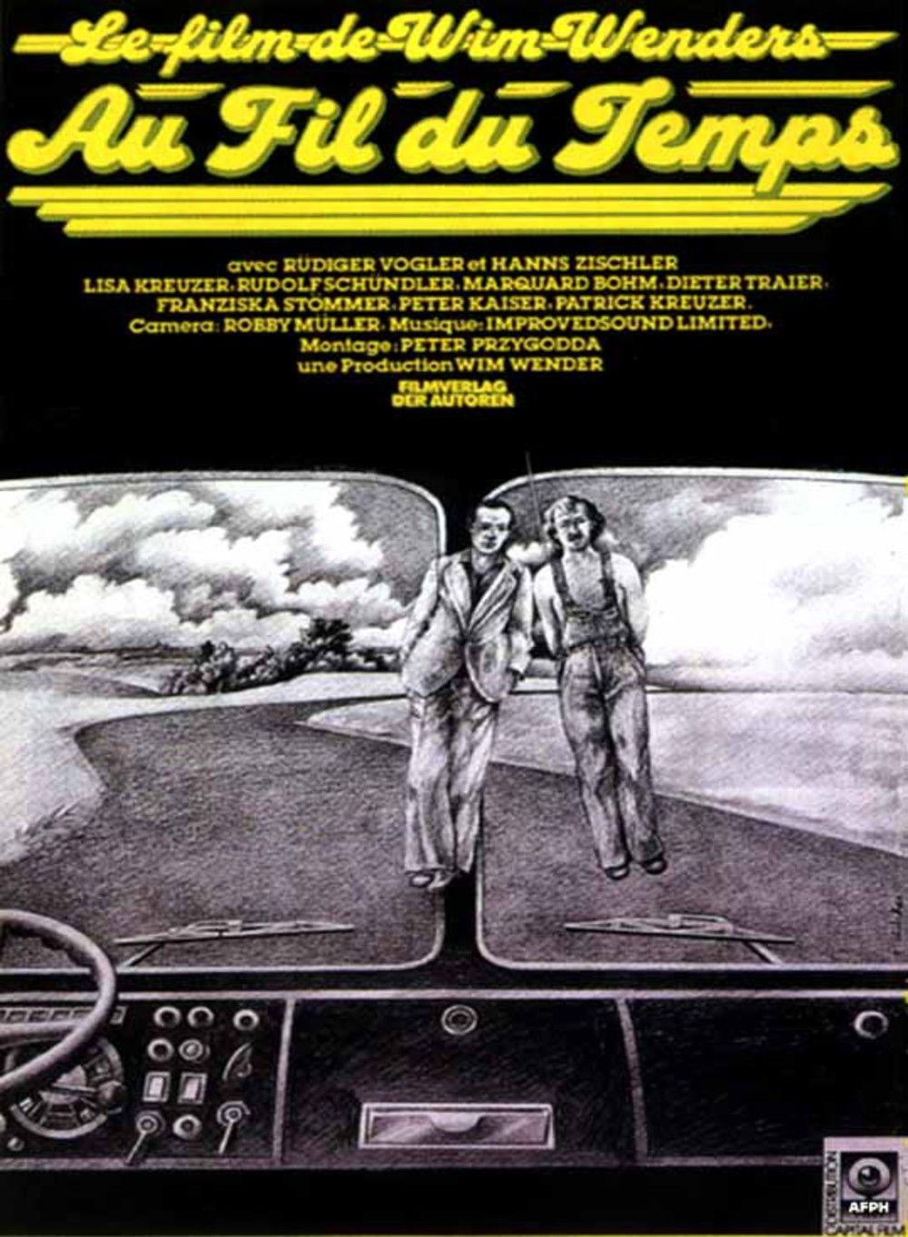 Zeit Au Fil Du Temps 1976 Im Lauf Der Zeit 1 2 3 4 5 6 7 8 9 Film Pas Le Temps Cinematographie