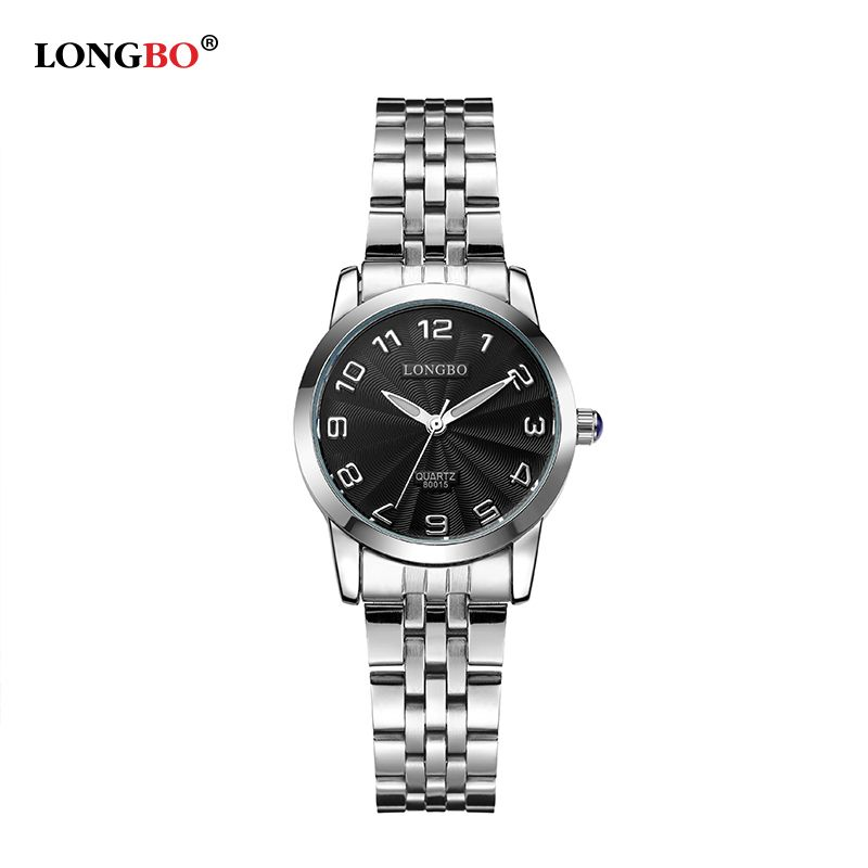 $16.38 (Buy here: http://appdeal.ru/5b3v ) Relogio Feminino LONGBO Brand New Luxury Women Watch Full Steel Watch 3ATM Waterproof Ladies Fashion Casual Clock Dames Horloges for just $16.38