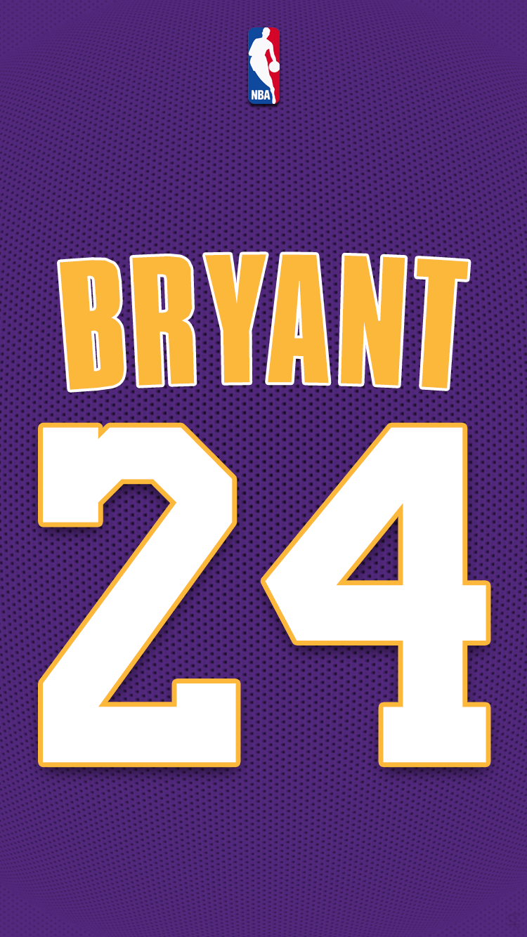 Los Angeles Lakers Bryant Png616946 750x1334 Pixels