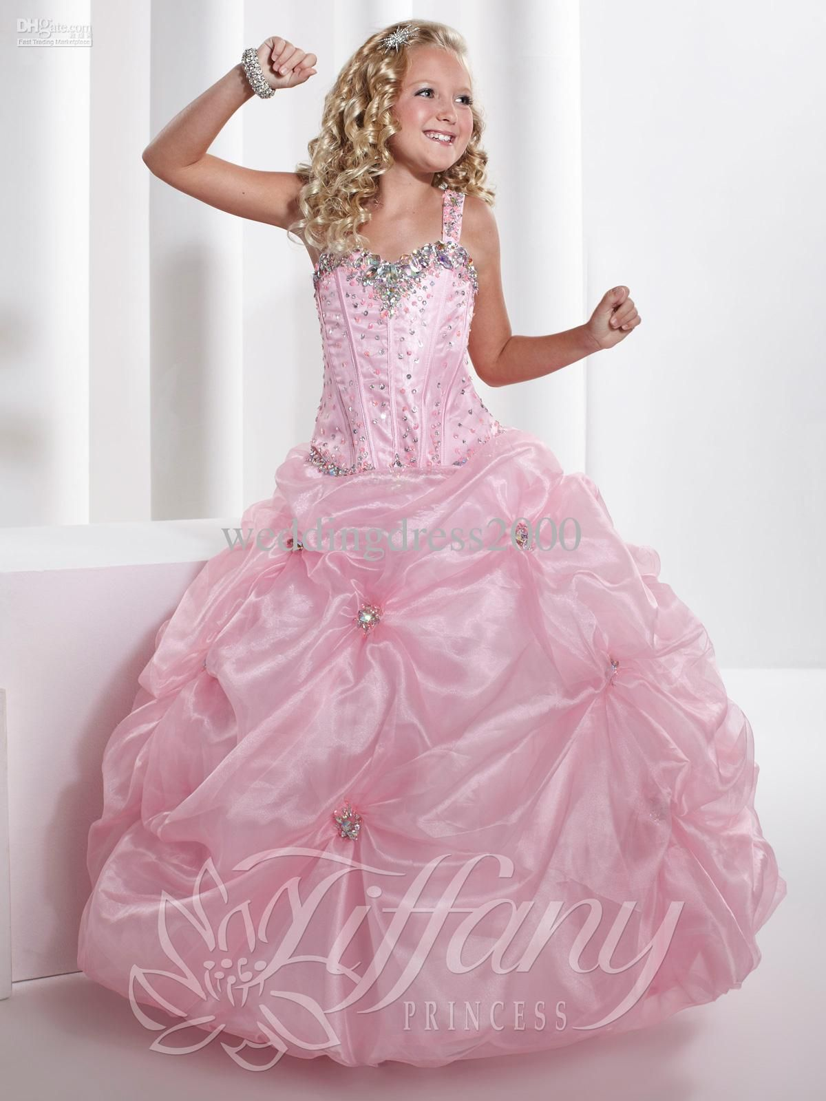 Wholesale new arrive pageant dresses for kids dresses for for Wedding dresses for young girls