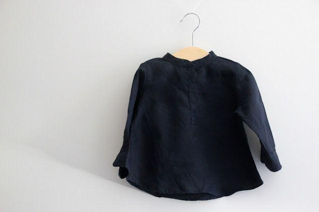 -DIY-costura-pattern-ropa-bebe nin% cc% 83o-shirt-pescoço-Maho-21