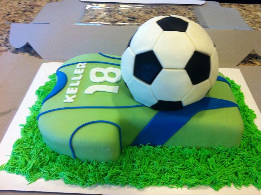Birthday Cake For A Seattle Sounders Fan Birthday Ideas