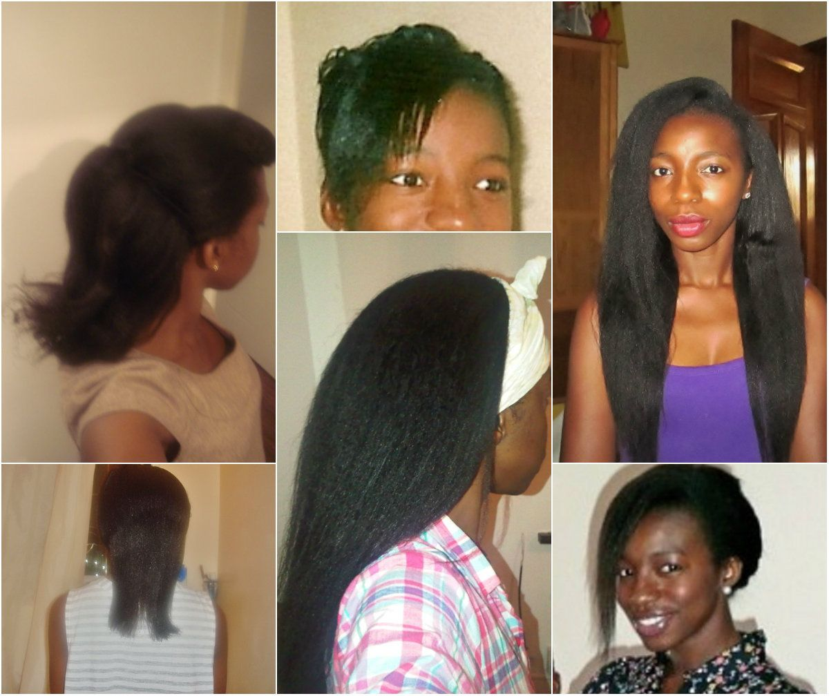 Feature How She Grew From Neck Length To Waist Length Relaxed Hair Health Relaxed Hair Natural Hair Styles