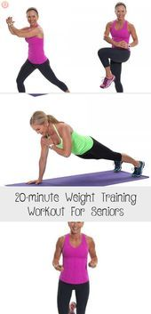 #20minute #diet #Fitness #Health #Seniors #Training #Weight #Workout Exercise can even reverse some...