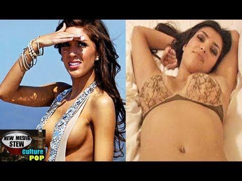 Farrah Abraham Backdoor Teen Mom Video Vs Kim Kardashian Sexy Tape Nms Culture Pop