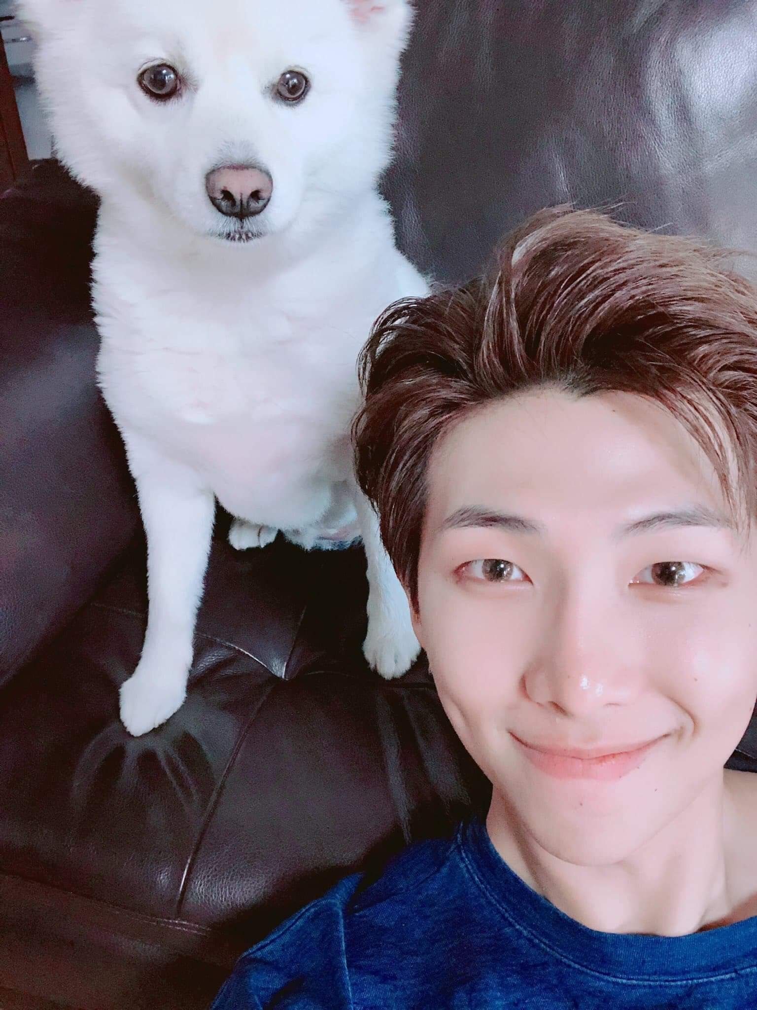 Namjoon s dog Rap Mon | Namjoon, Bts rap monster, Kim namjoon