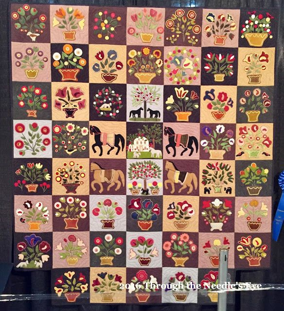 My Emily Munroe Quilt By Susan Calhoun And Quilted By Terry Kramzar