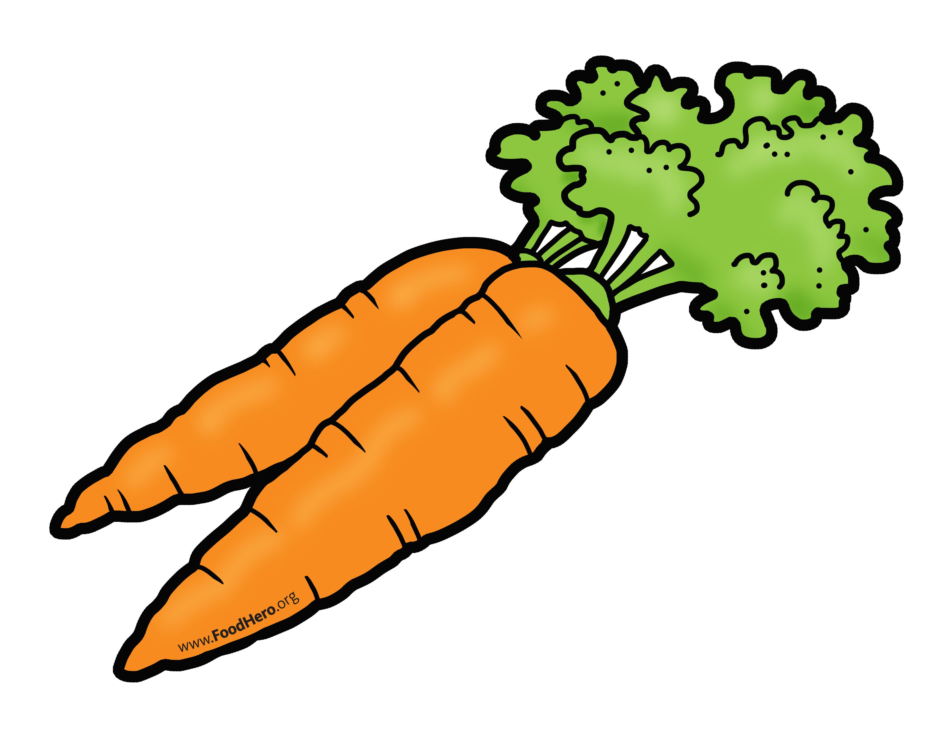 Carrots Illustration Foodhero Bullentinboards Artwork With
