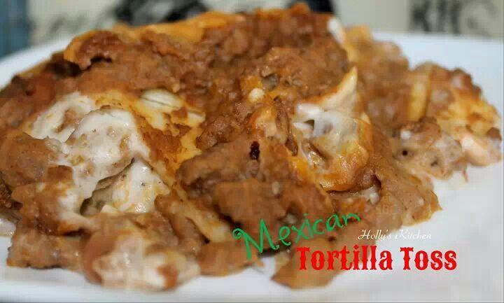 Mexican Tortilla Toss recipe