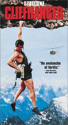 Cliffhanger - basically Die Hard on a mountain. Fun, underrated actioner.