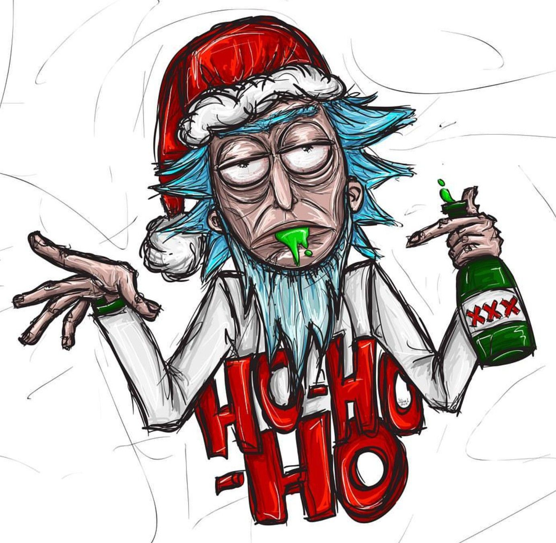 Rick and Morty x Christmas   Rick and morty, Morty