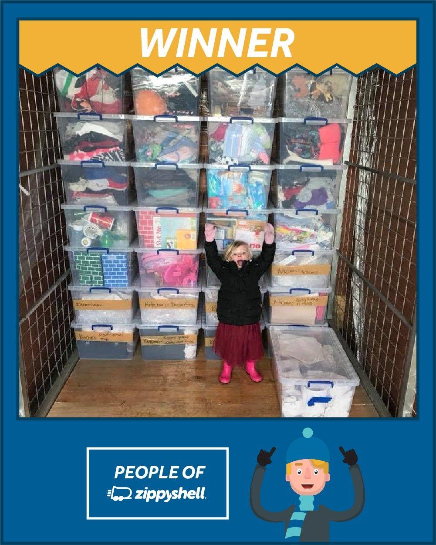 Congratulations Kelly H. Of Downers Grove, IL! #peopleofzippyshell  #zippymovesme #moving #organized