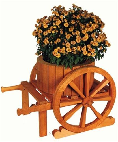Premier Wooden Tricycle Planter