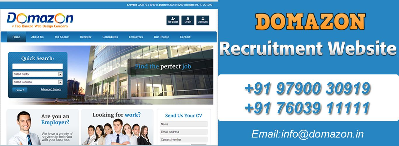 Stunning Recruitment Websites Get A Quote Now Website Design Company Web Design Company Professional Web Design