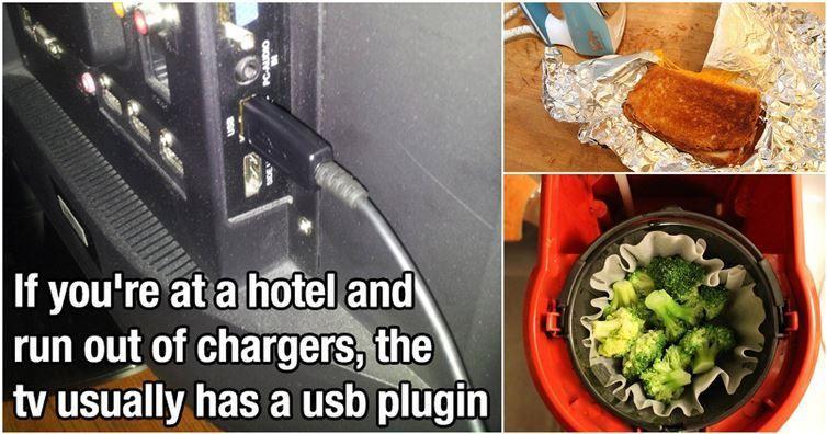 15 Helpful Hotel Room Hacks   Diply