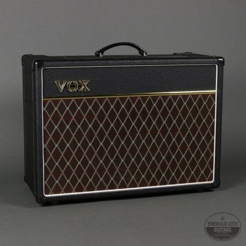 Vox Ac15c1 Black 495 00 Vox Guitar Amp Guitar