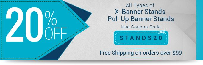 Exclusive Offer 20 Off On Banner Stands Use Coupon Code Stands20