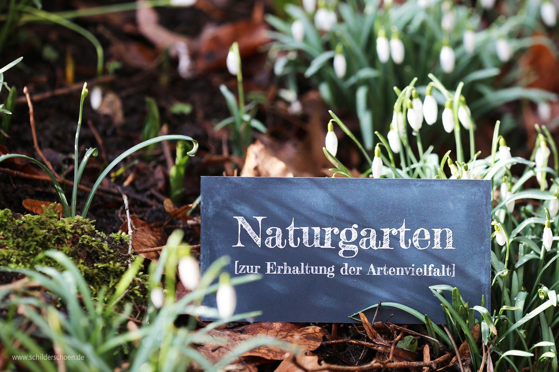 Der Fruhling Steht In Den Startlochern Bald Geht Es Wieder Raus In Den Garten Und Damit Man Im Garten Auf Naturgarten Garten Gartenschilder