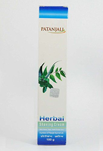 Patanjali Herbal Shaving Cream Patanjali Http Amzn To 1tn6xj6