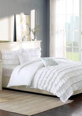 Waterfall Comforter Set Comforter Sets White Comforter Bedroom