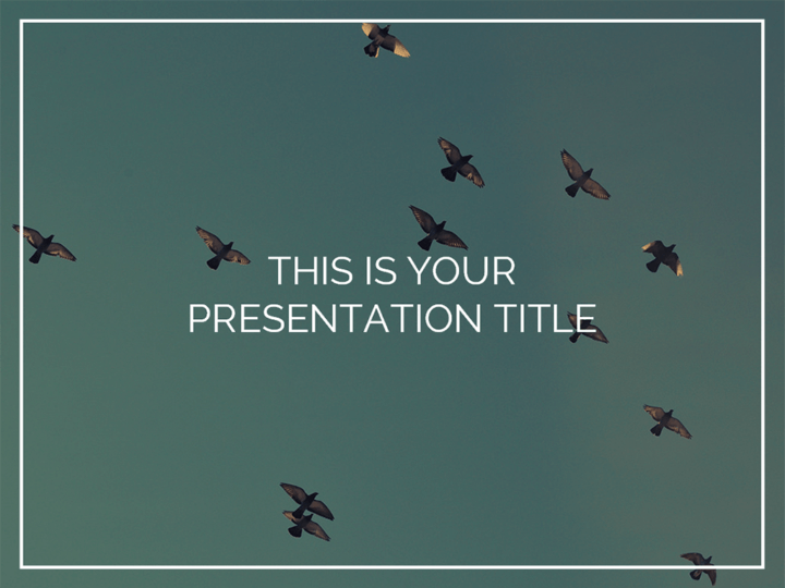Free Inspiring Powerpoint Template Or Google Slides Theme With Photo