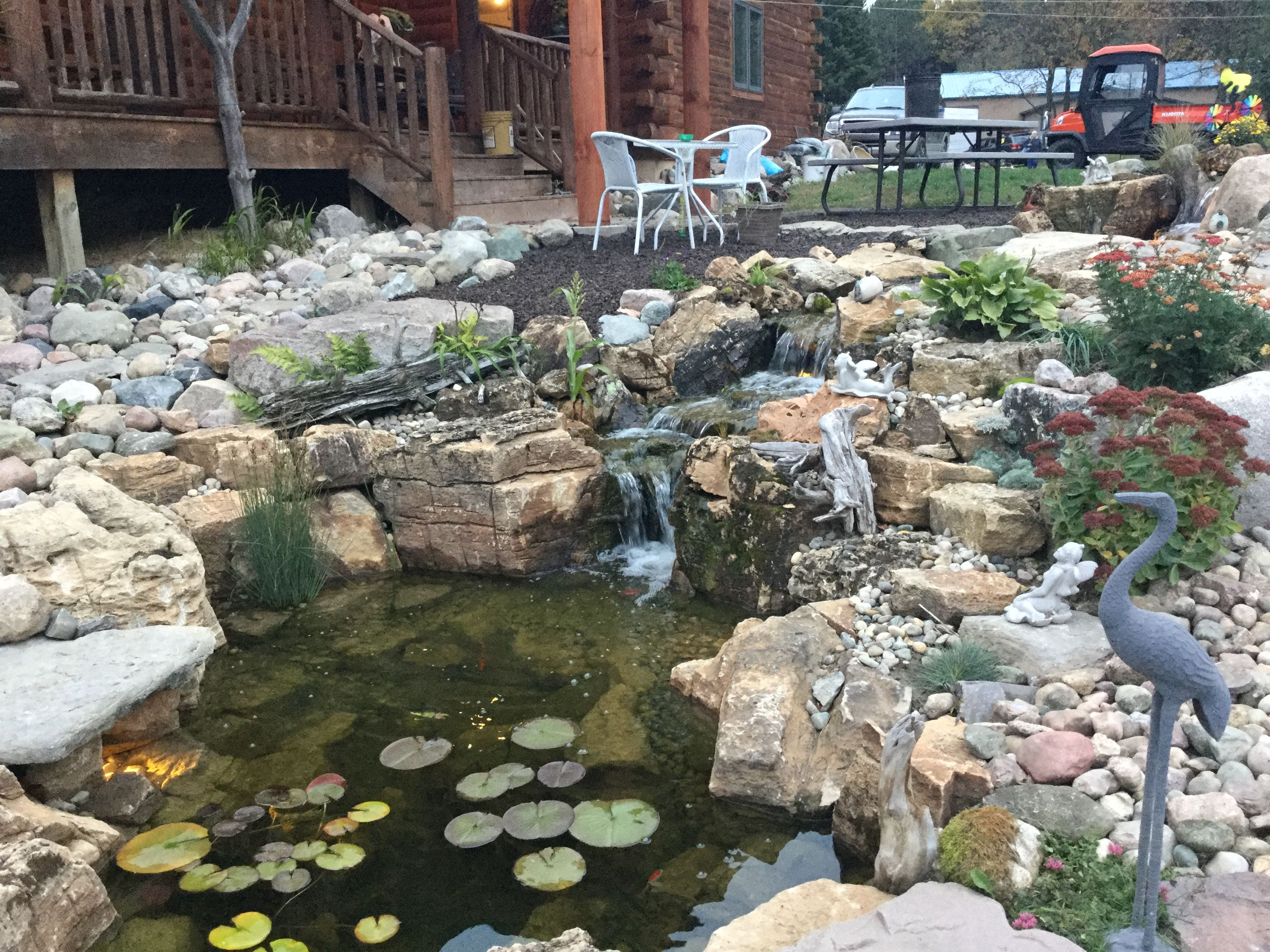The Incredible Dr Pol S Pond Ponds Backyard Backyard Water Feature Backyard Backyard fish farming for profit